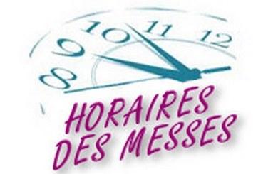 Horaires des messes | Diocèse de Saint-Dié
