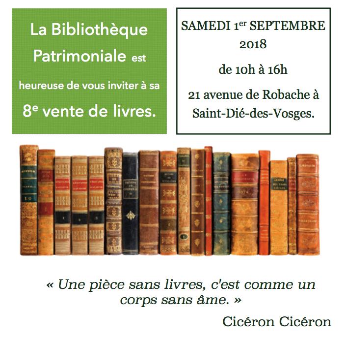 Grande Vente De Livres A La Bibliotheque Patrimoniale
